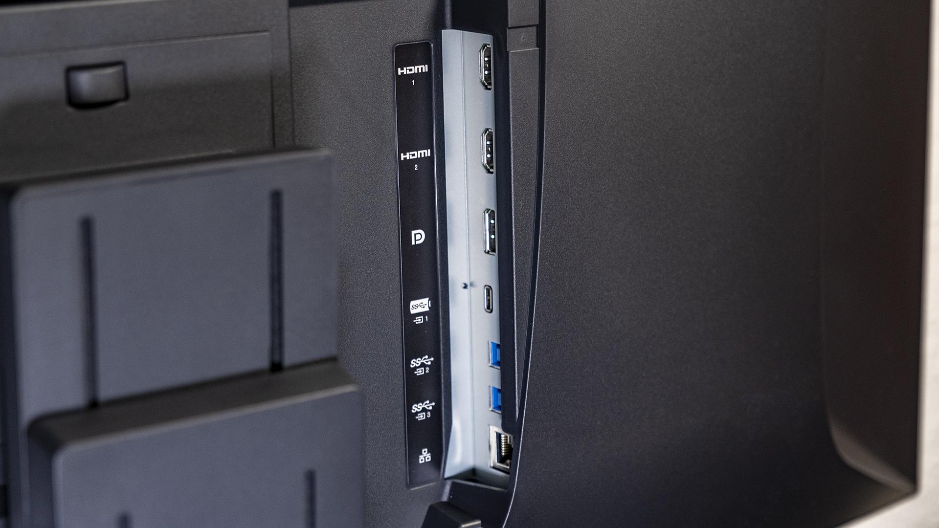 Eizo FlexScan BV3895 Anschluesse Video LAN USB C