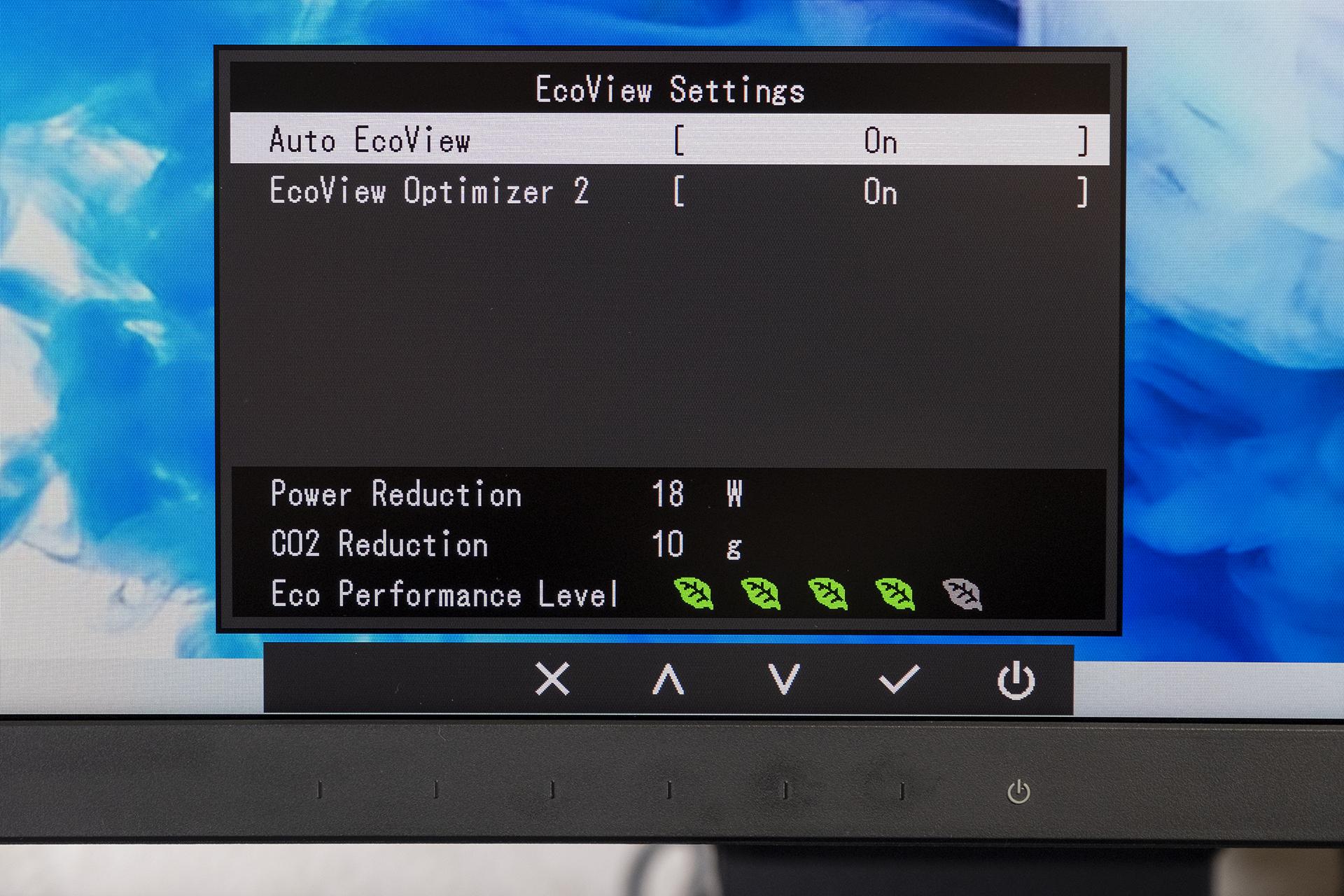 Eizo FlexScan EV3895 OSD EcoMode