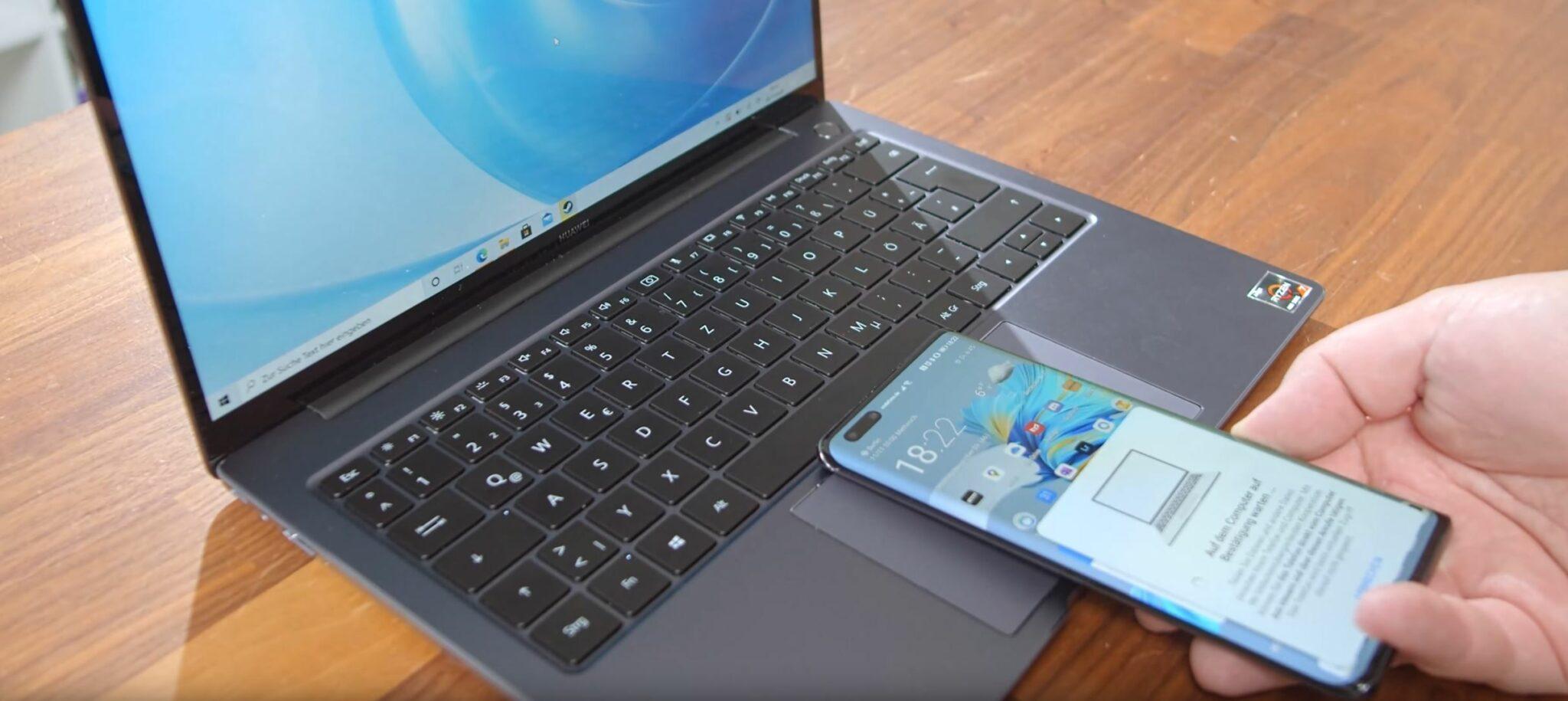 Huawei MateBook 14 AMD Ryzen 7 4800H Huawei Share