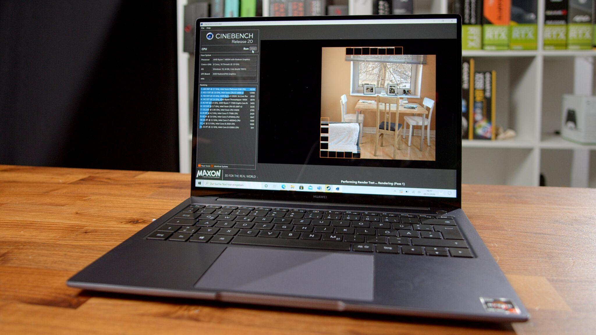 Huawei MateBook 14 mit AMD Ryzen im Test: Leicht, schnell – perfekt?