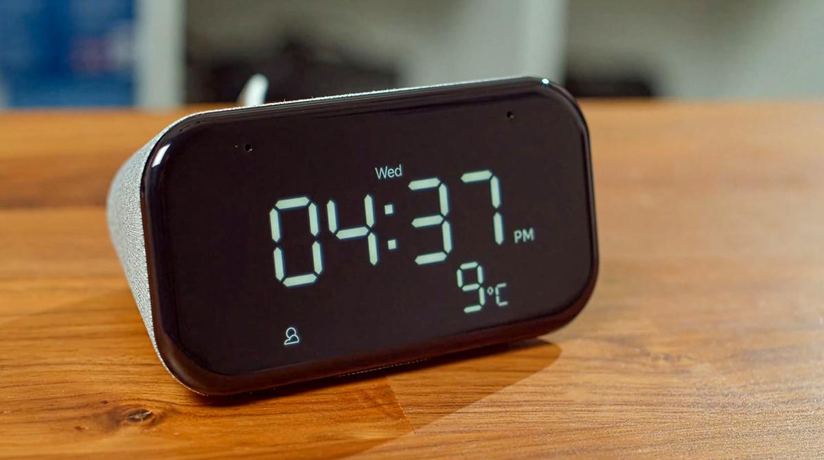 Lenovo Smart Clock Essential – rundes Smart-Device zum günstigen Preis