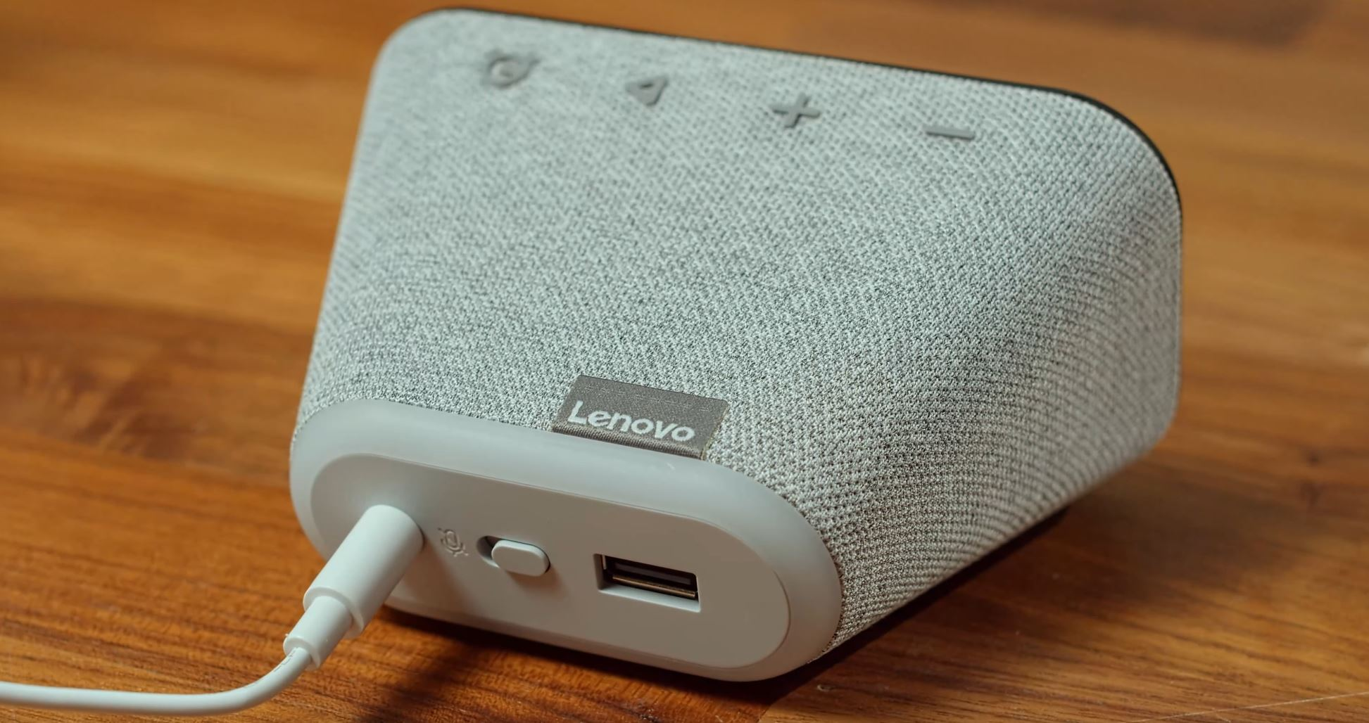 Lenovo Smart Clock Essential Rückseite