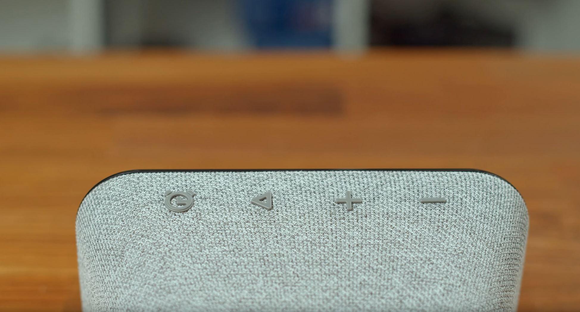 Lenovo Smart Clock Essential Tasten Oberfläche