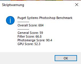 Lenovo ThinkPad L14 AMD Photoshop Benchmark