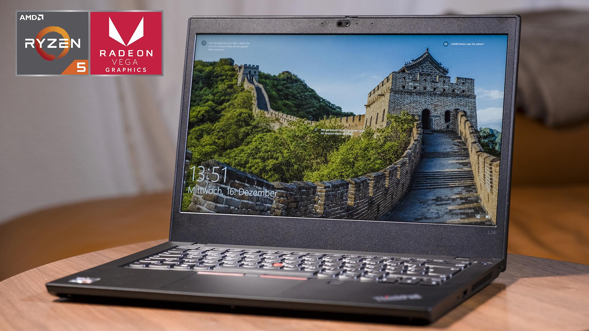 Lenovo ThinkPad L14 – AMD Ryzen 4000 kann auch Business