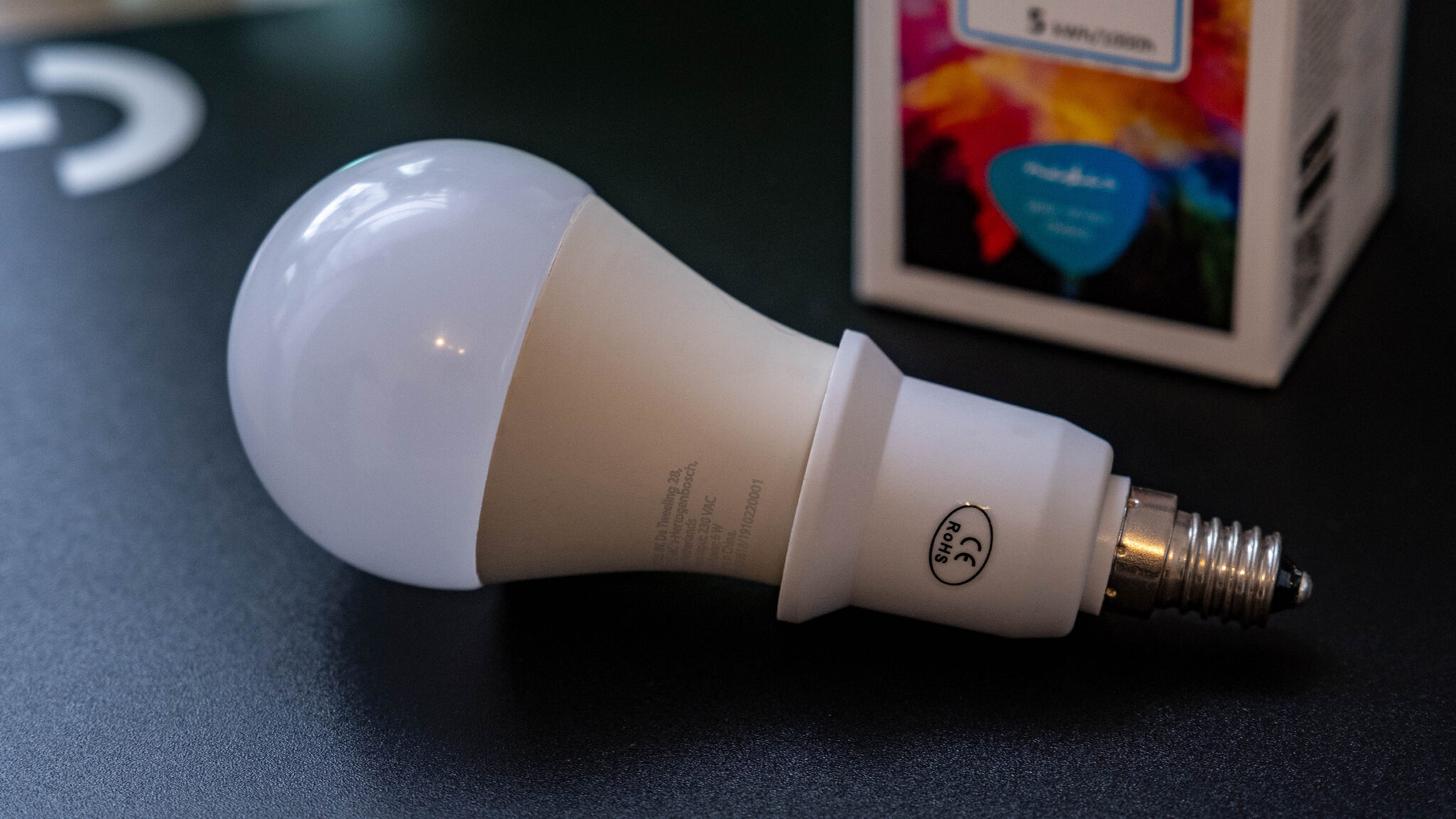 Nedis Smart Bulb WLAN LED Lampe Adapter