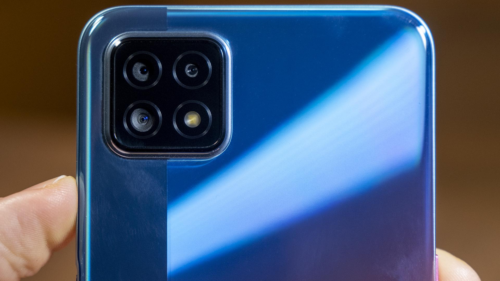OPPO A73 5G Smartphone Review Kameras Rückseite 2