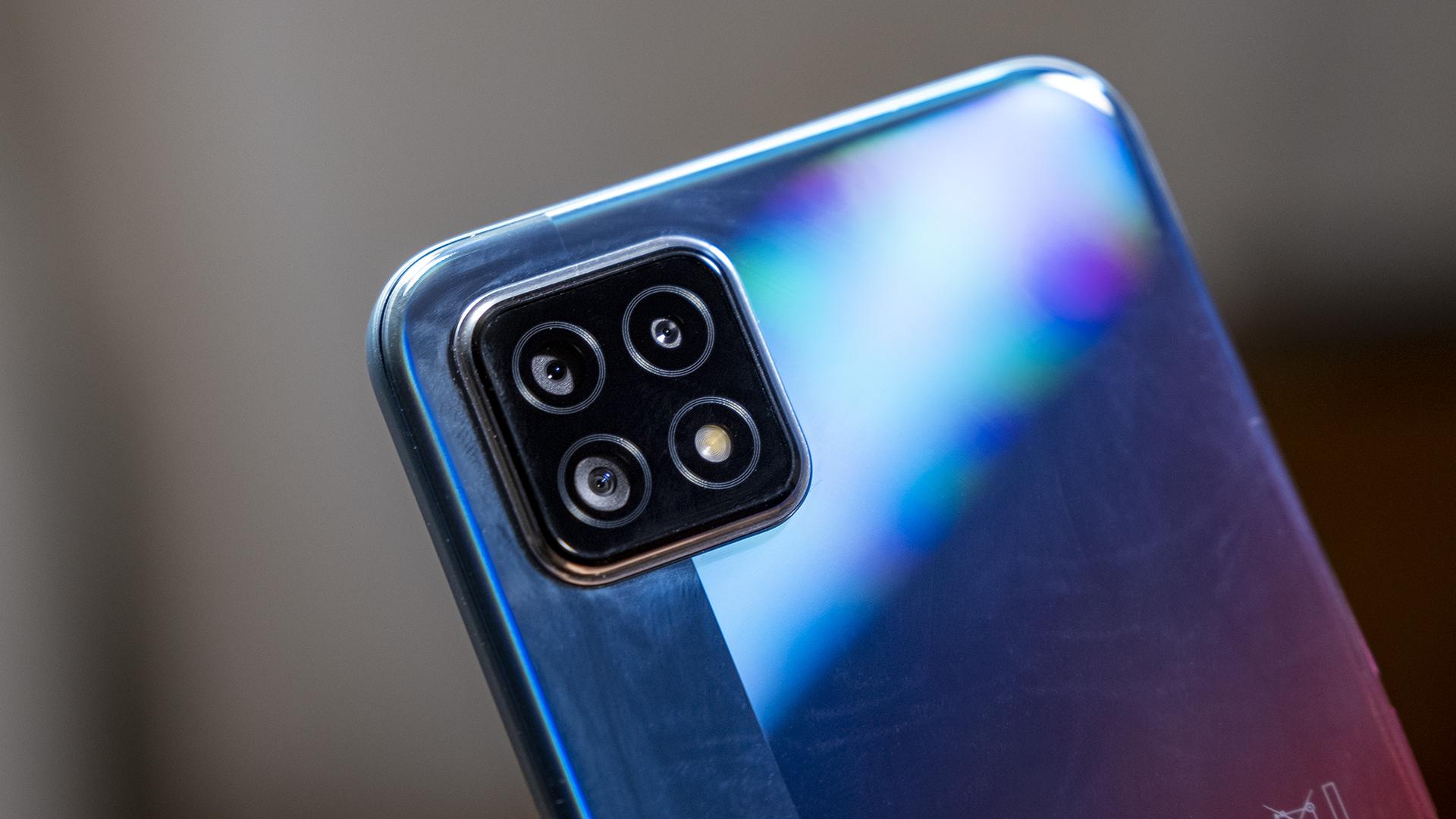 OPPO A73 5G Smartphone Review Kameras Rückseite