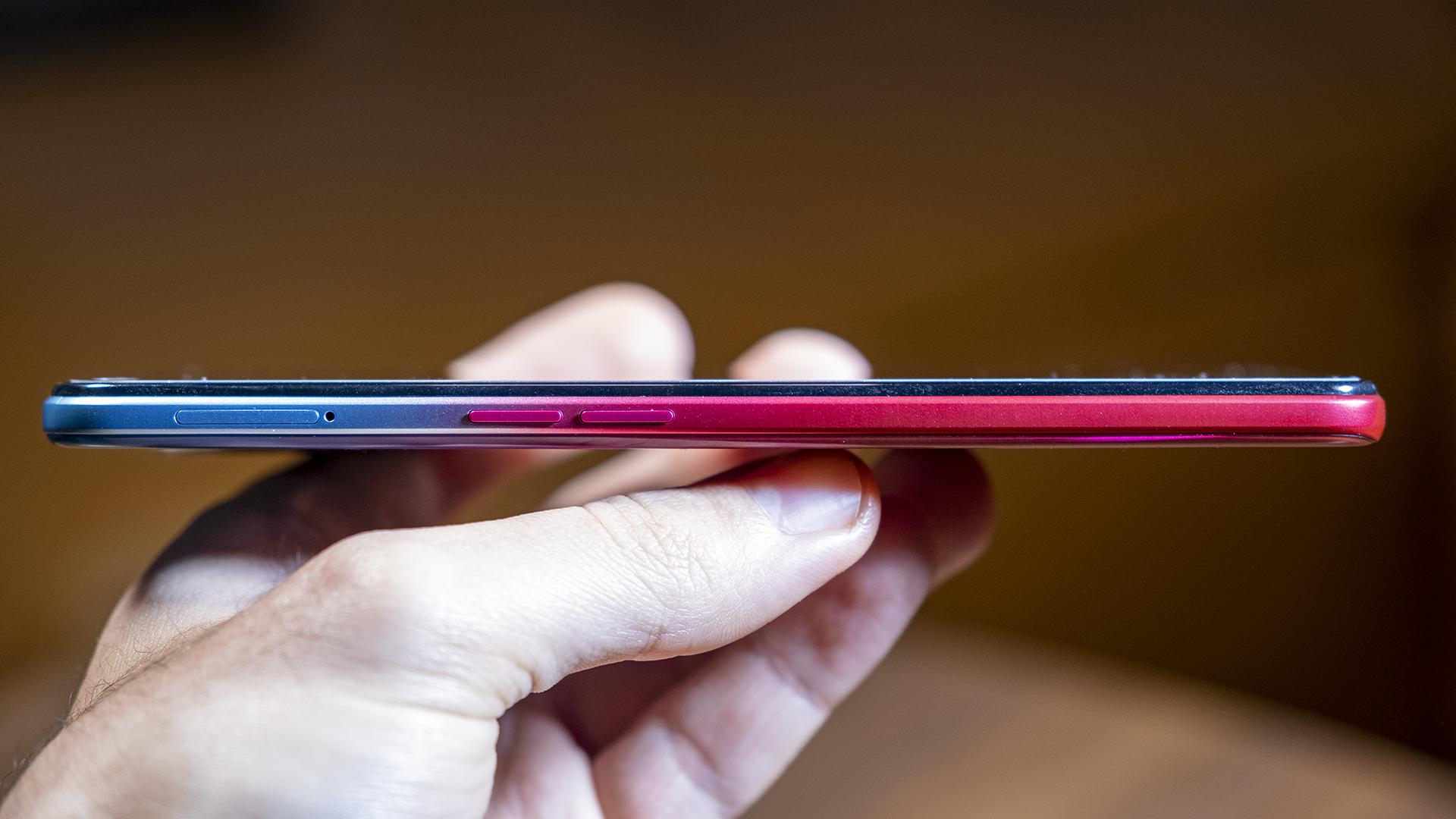OPPO A73 5G Smartphone Review Test Seite Lautstärke