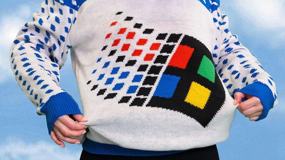 Wunderschön hässliche Weihnachtspullis von Microsoft