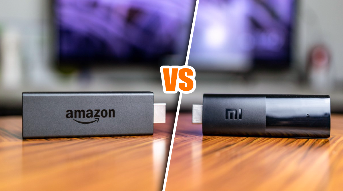 Test: Fire TV Stick vs Xiaomi Mi TV Stick