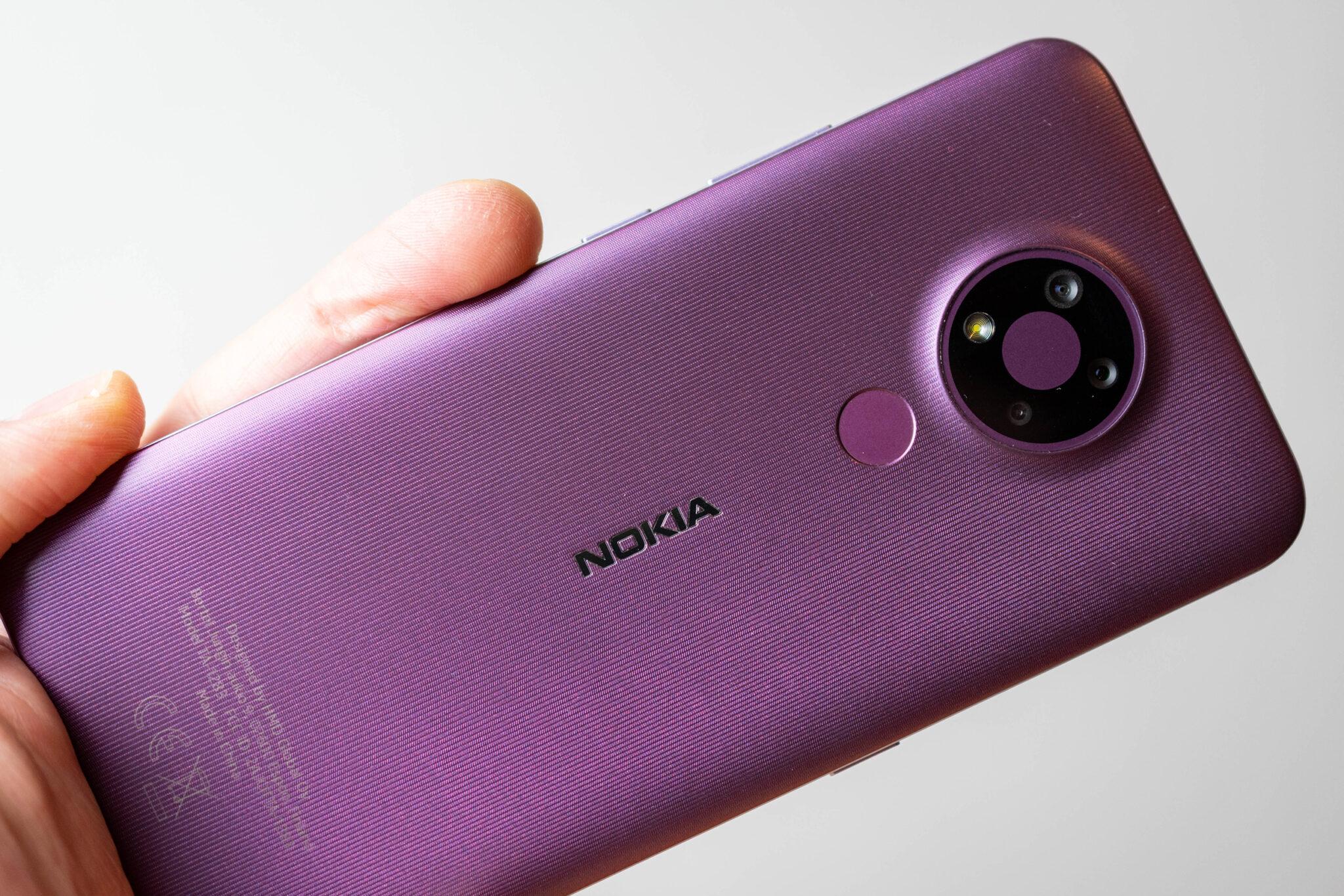 nokia 3.4 einsteiger-smartphone mit großem akku im test