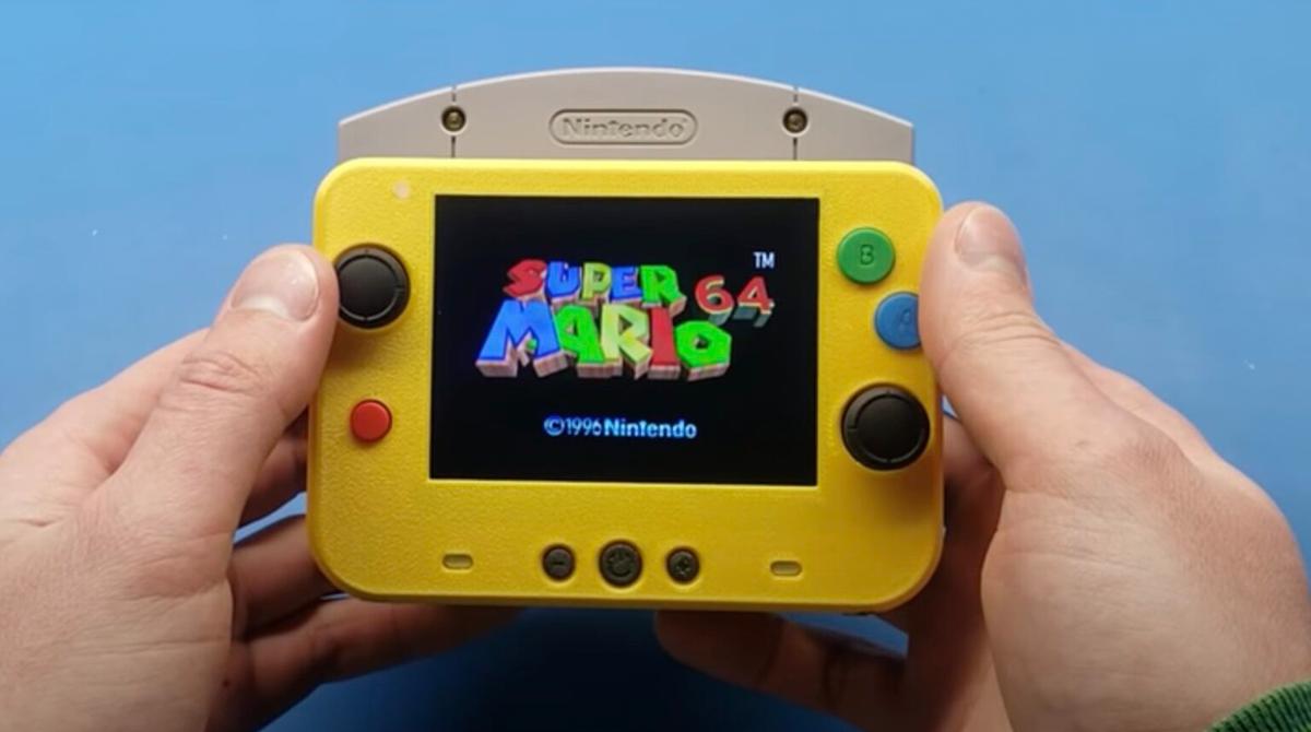 Konsolen-Modding: Der vielleicht kleinste Nintendo 64 der Welt