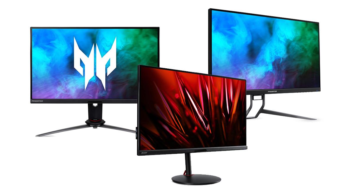 Acer Predator und Nitro: Neue Gaming-Monitore mit 1440p@275 Hz und 4K-UHD@144Hz vorgestellt
