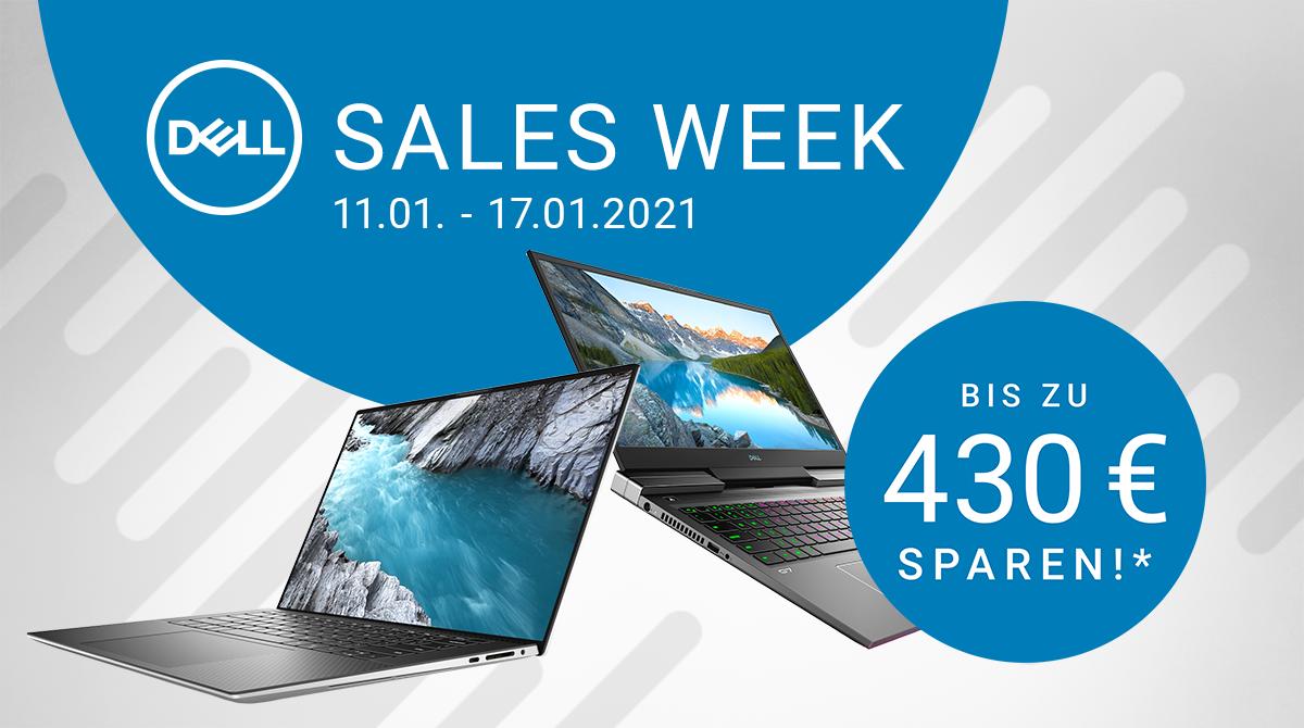 Spare bis zu 430 Euro bei der Dell Sales Week