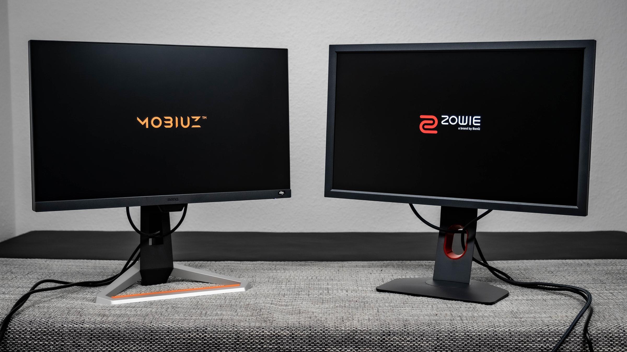 BenQ MOBIUZ EX2510 und ZOWIE XL2411K
