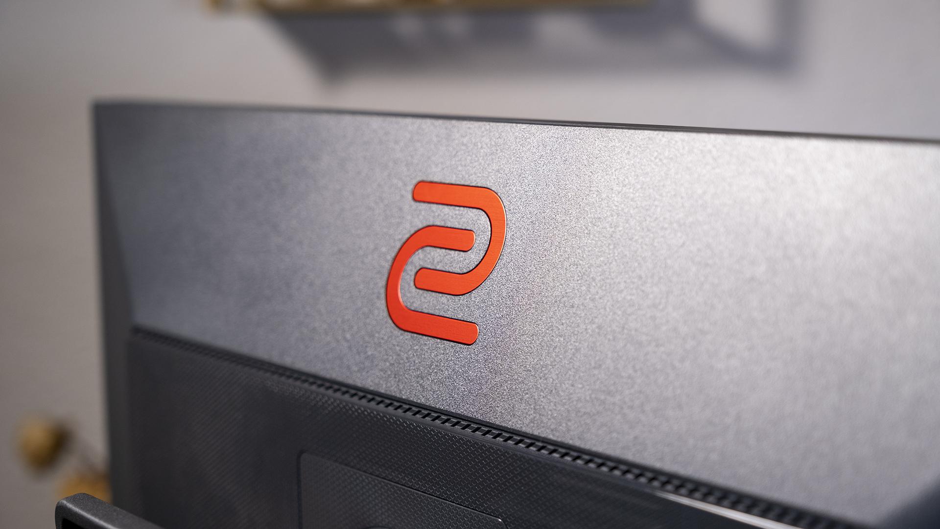 BenQ ZOWIE XL2746S Rückseite Logo