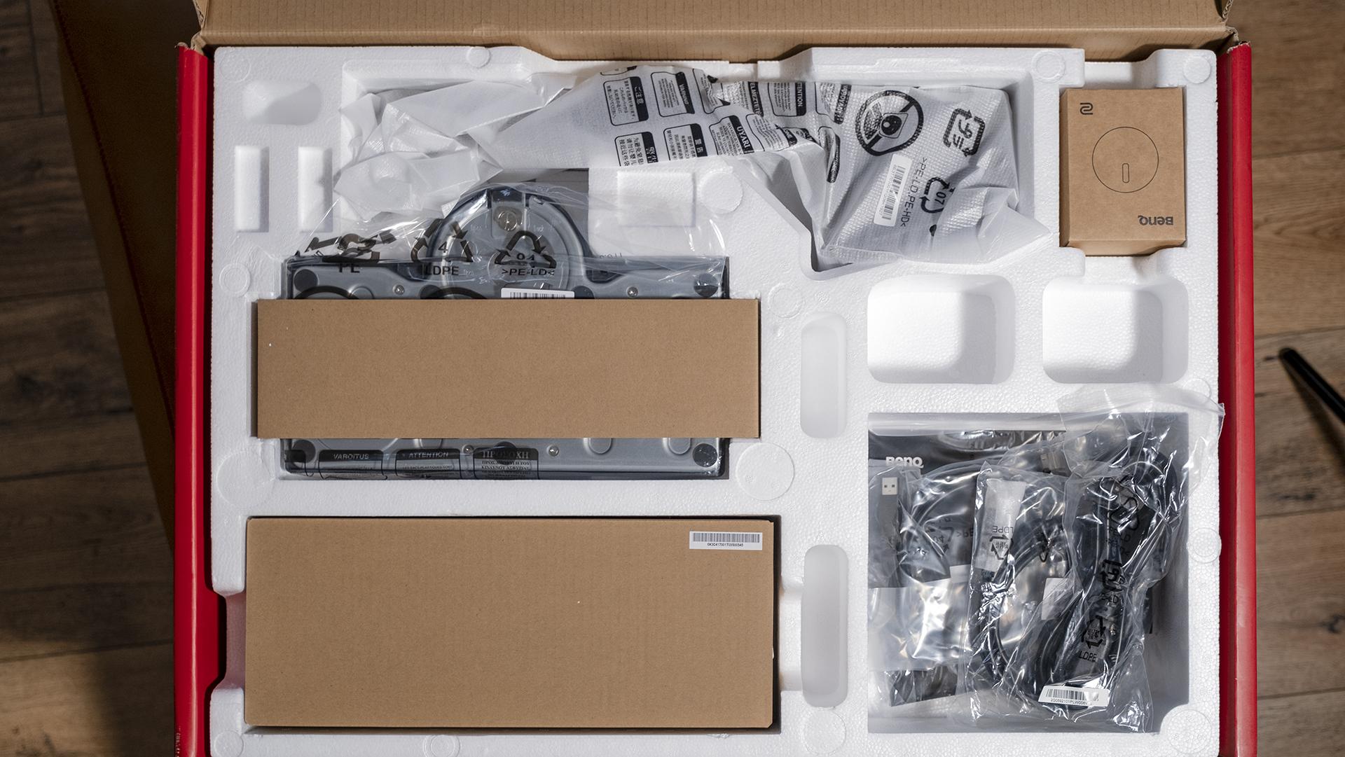 BenQ ZOWIE XL2746S Verpackung Lieferumfang