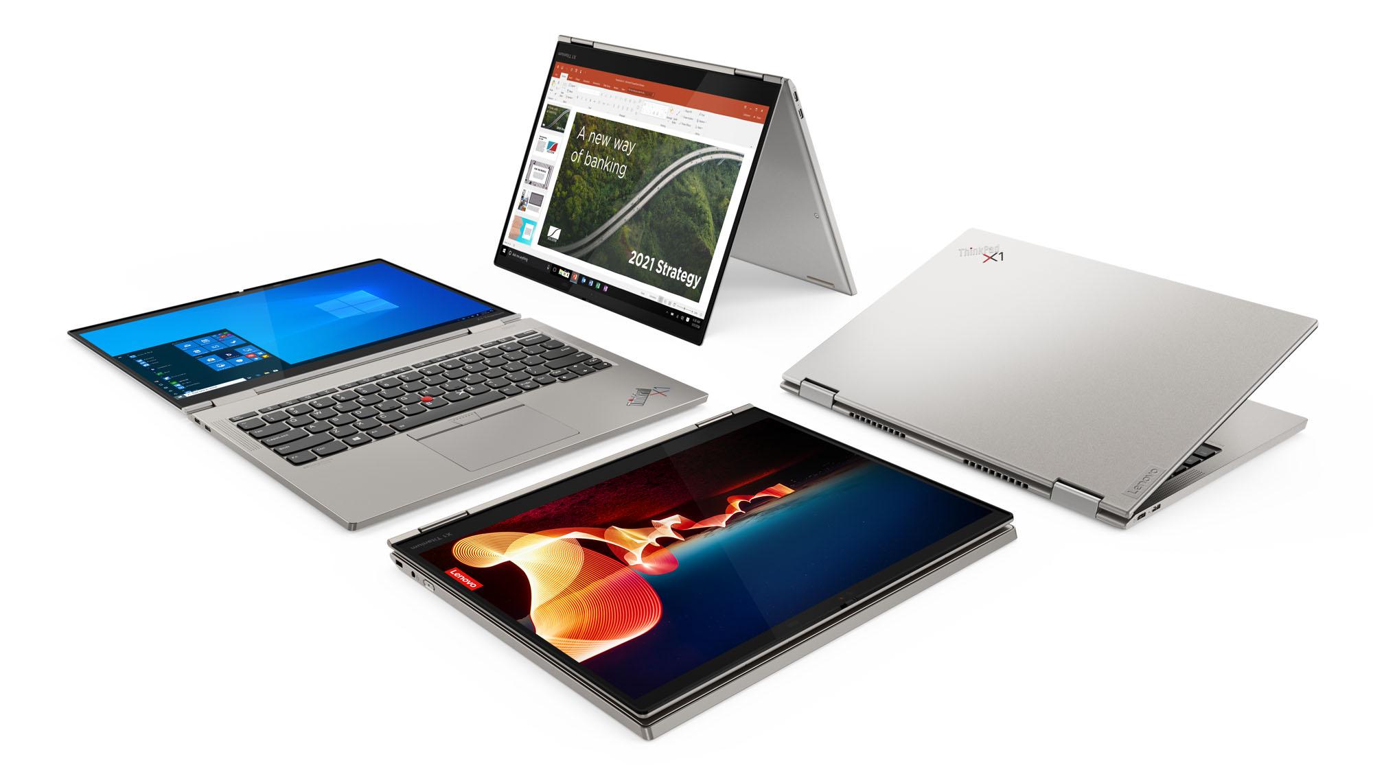 CES 2021: Lenovo stellt neue ThinkPads X12 Detachable, X1 Carbon und X1 Titanium Yoga vor