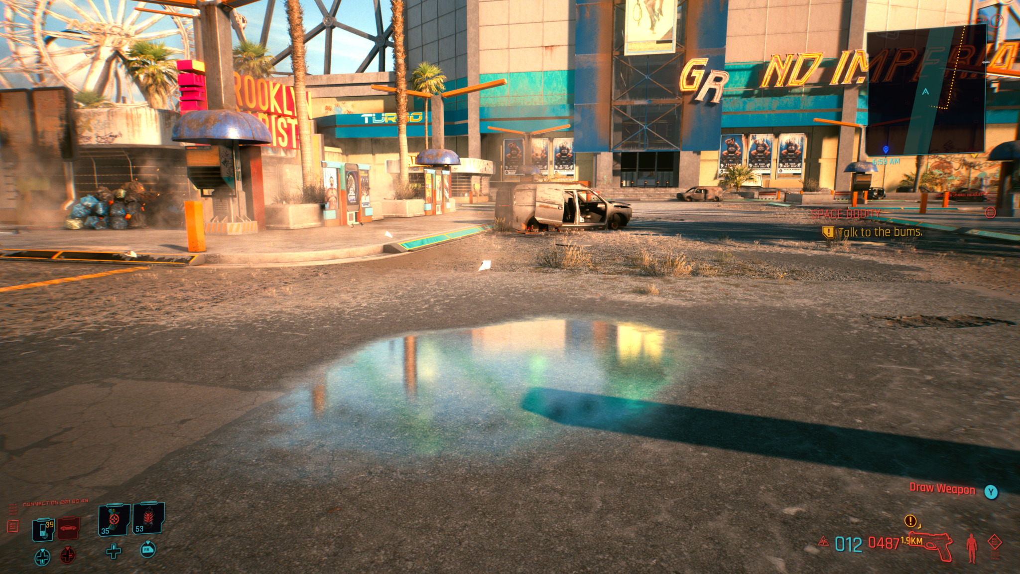 Cyberpunk 2077 (C) 2020 by CD Projekt RED Tag RTX Off Screen Space Reflection Psycho