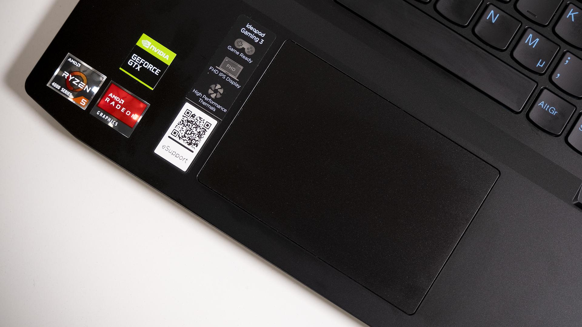 Lenovo IdeaPad Gaming 3 AMD Touchpad