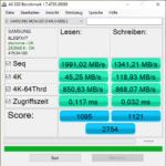 Lenovo IdeaPad Gaming 3 AS SSD Benchmark