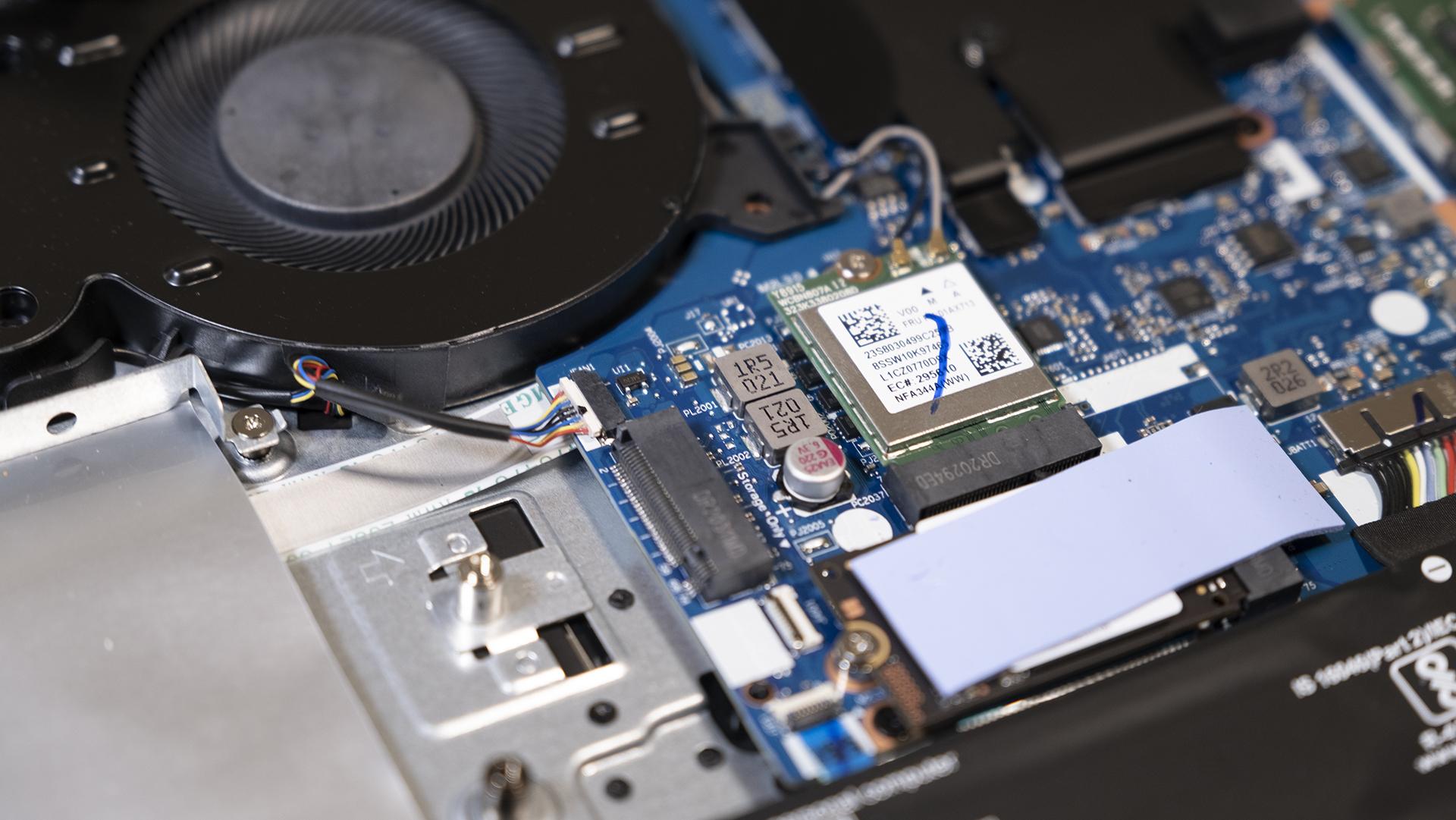 Lenovo IdeaPad Gaming 3 Netzwerk WiFi M2 SSD2