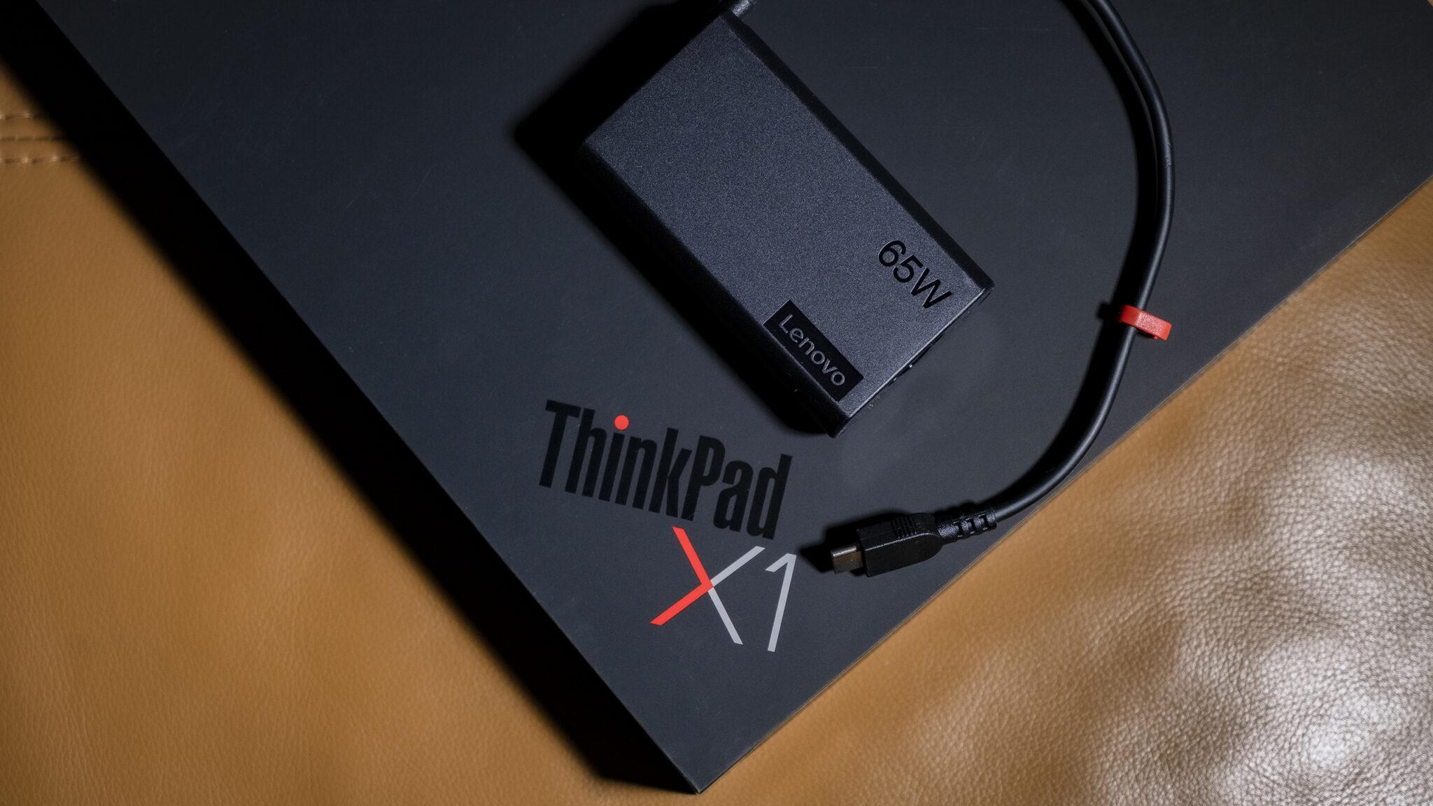 Lenovo ThinkPad X1 Fold Verpackung Ladegerät