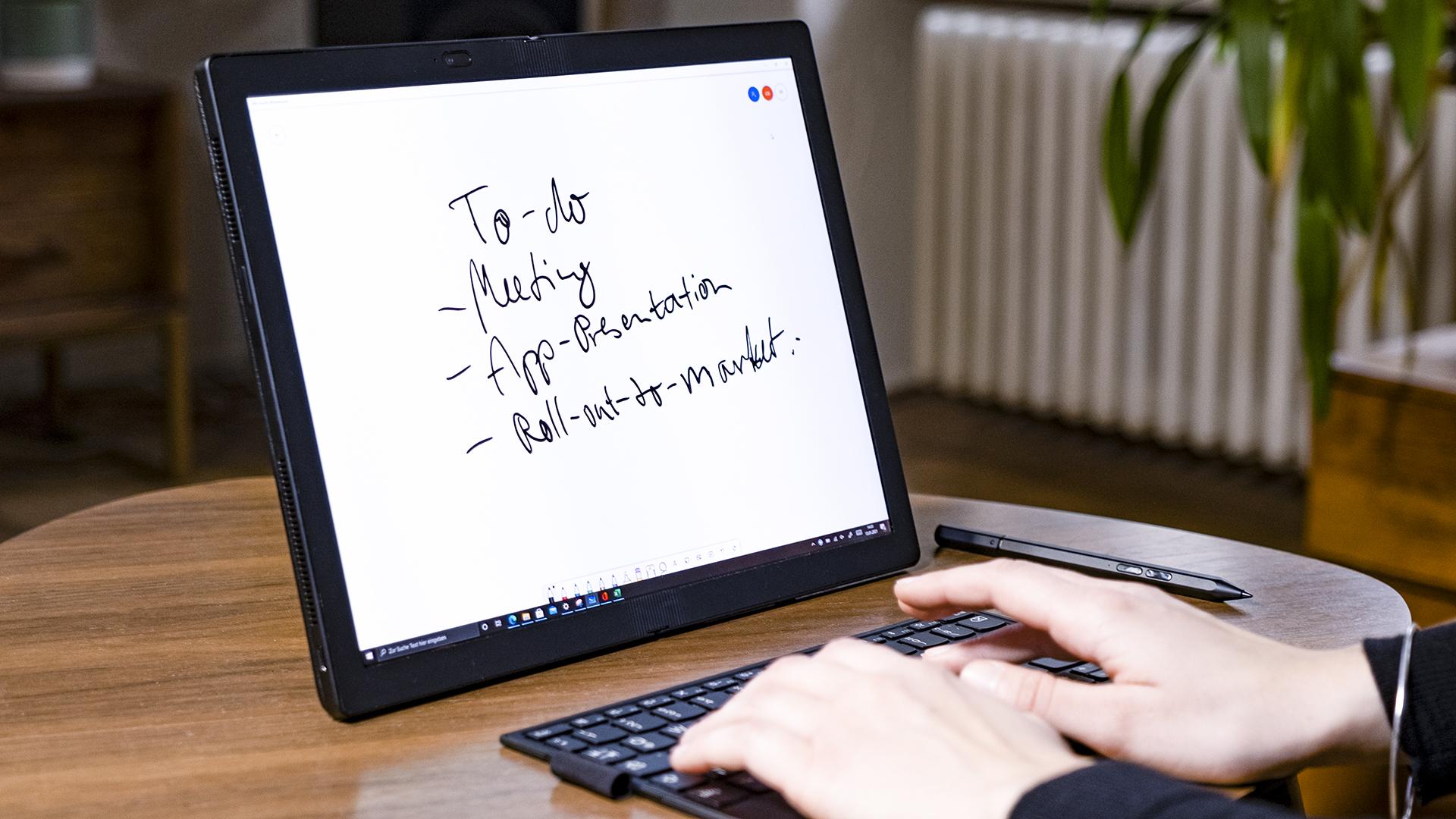 Lenovo ThinkPad X1 Notebook Modus Display 2