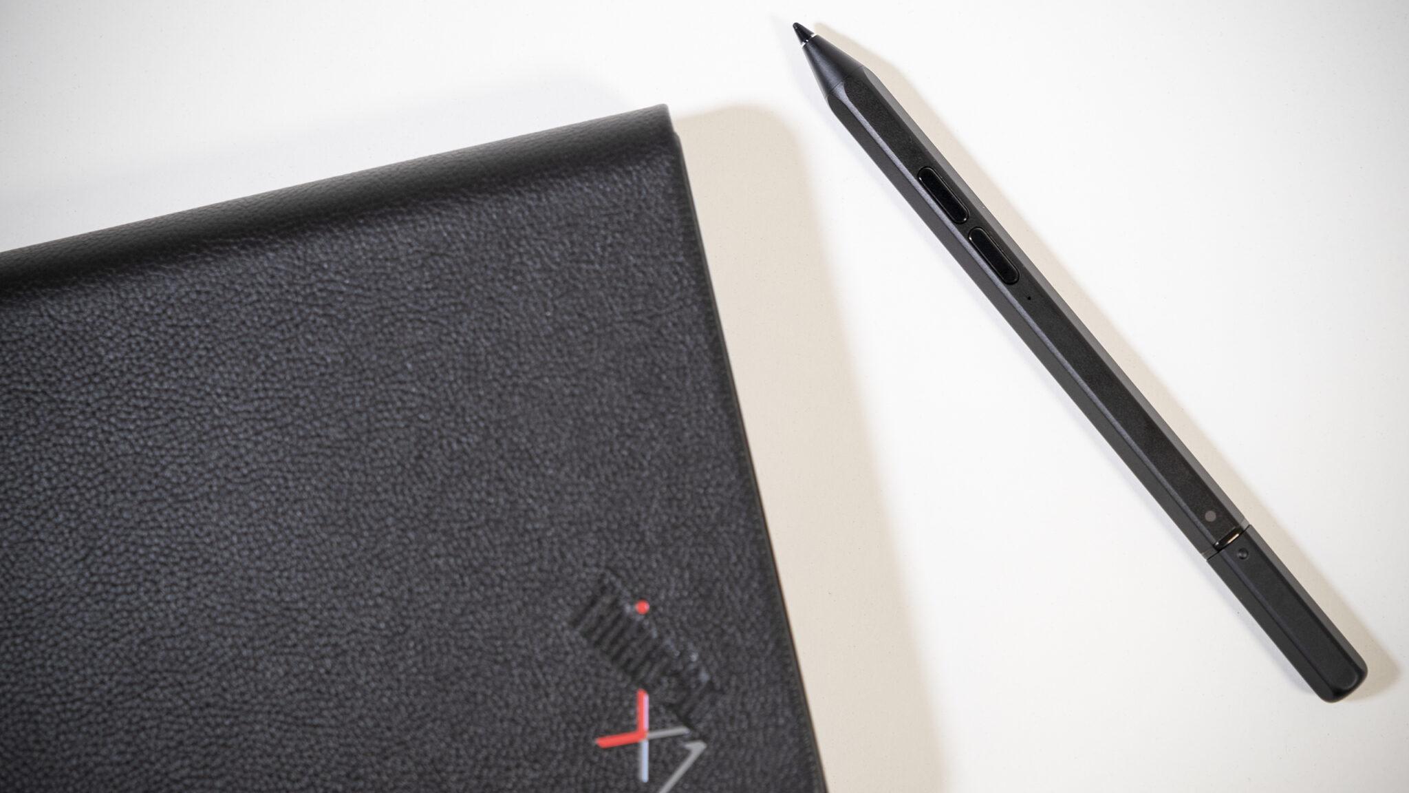 Lenovo ThinkPad X1 Stift Close Up