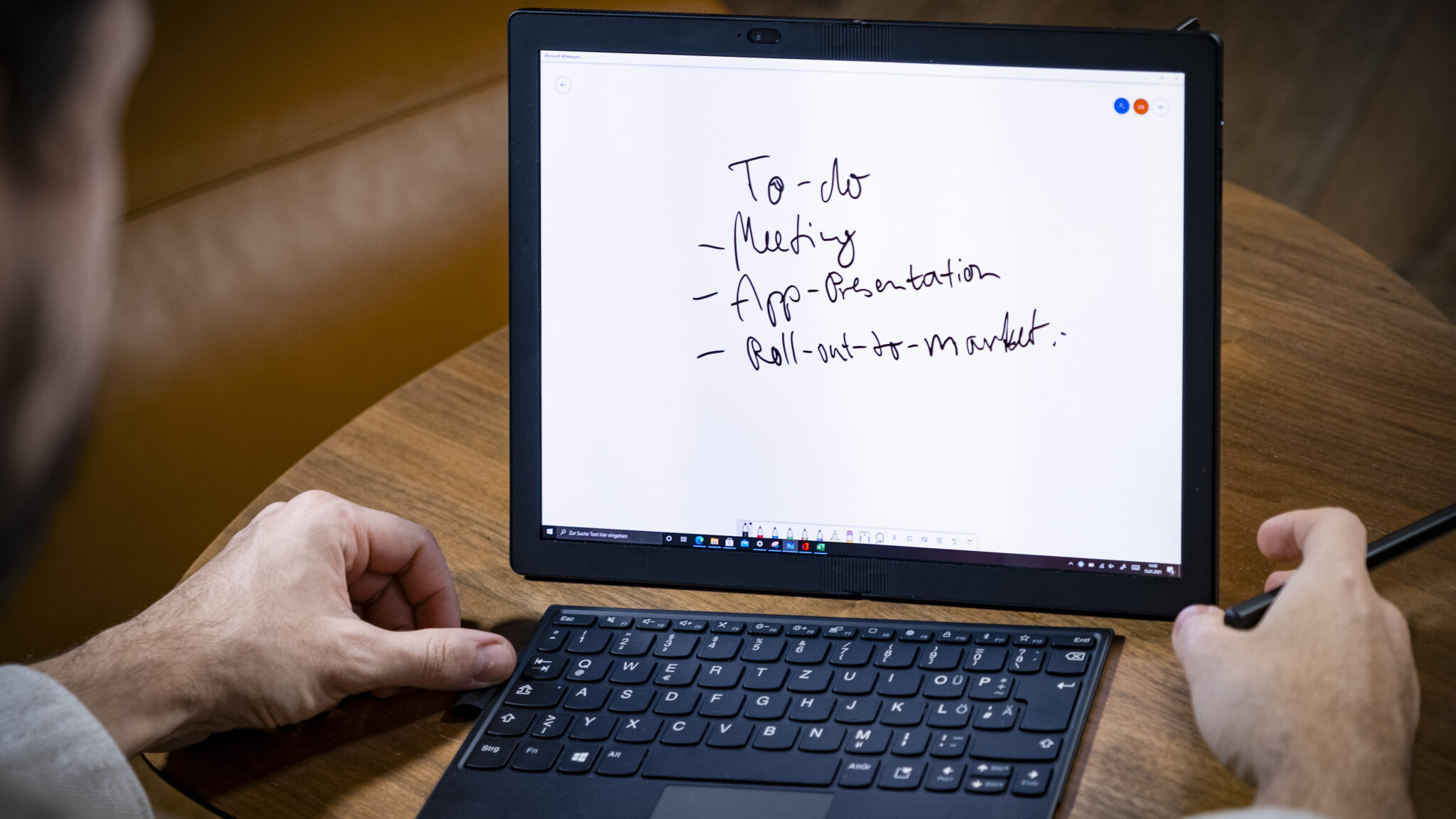 Lenovo ThinkPad X1 Tablet Modus Display