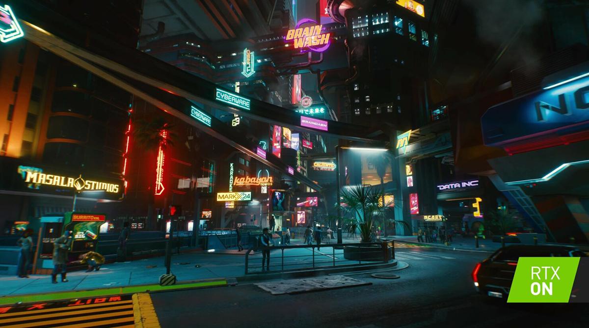 Nvidia RTX und DLSS in Cyberpunk 2077 – Es werde Licht (und Schatten)
