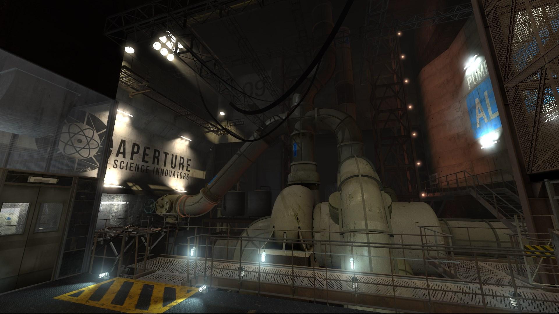 Portal 2 Desolation Mod level