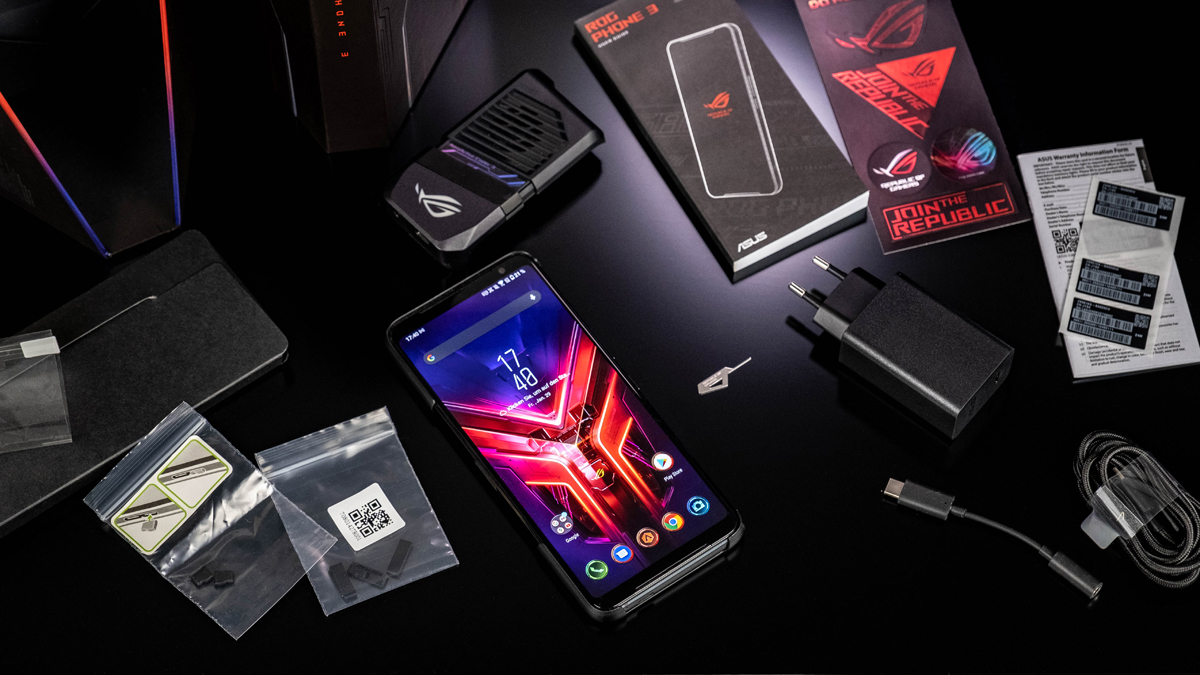 ASUS ROG Phone 3 Gaming-Smartphone Lieferumfang
