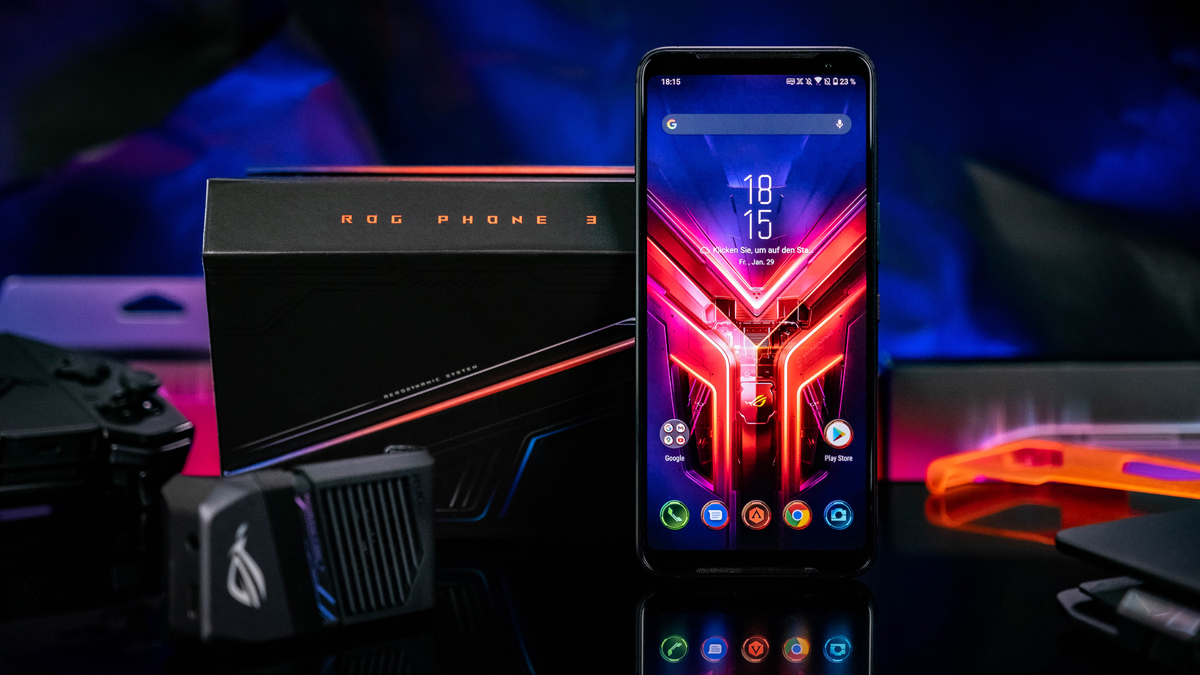 ASUS ROG Phone III mit Zubehör im Test: Schneller, besser, ultimativer?
