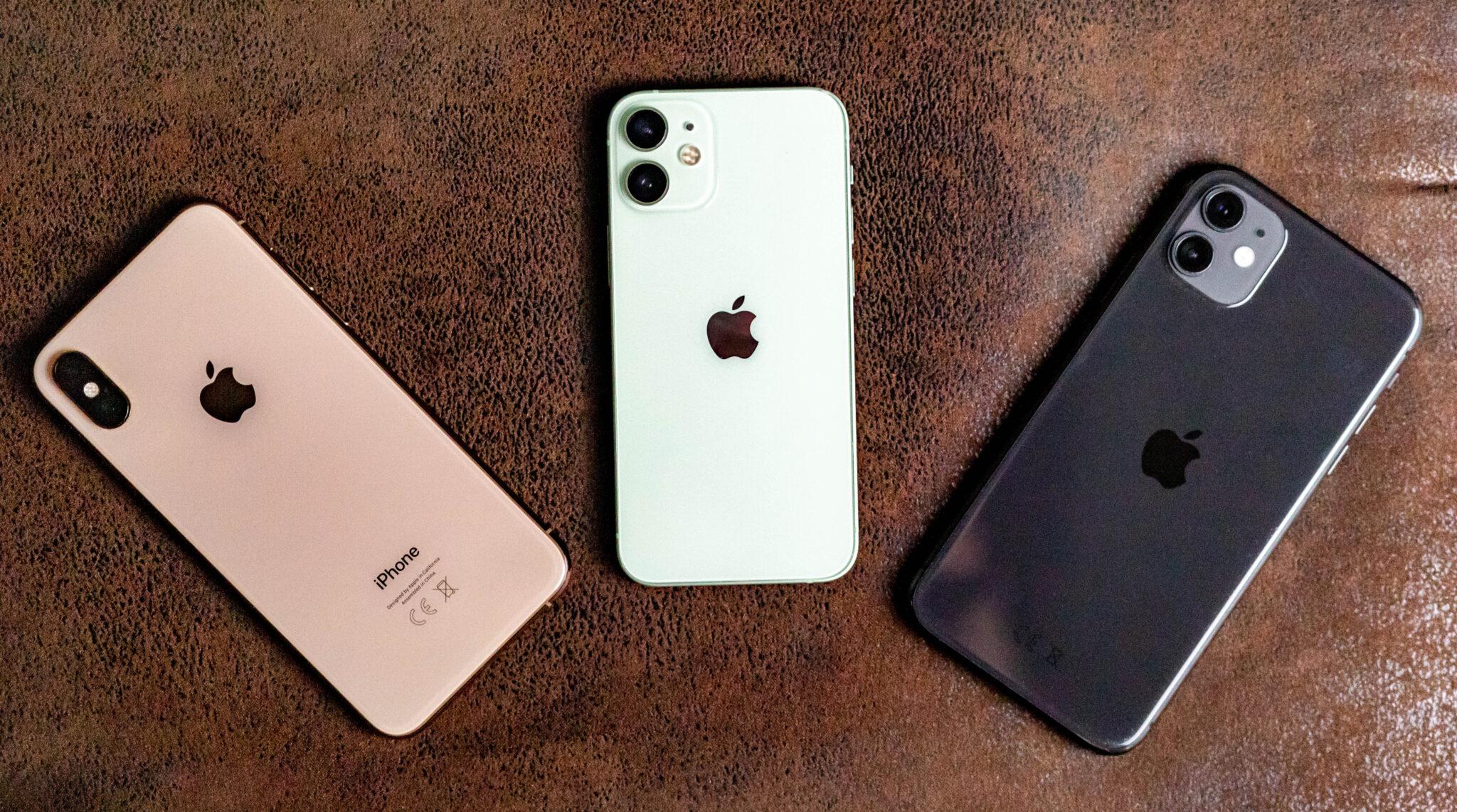 iPhone 12 mini vs xs vs 11