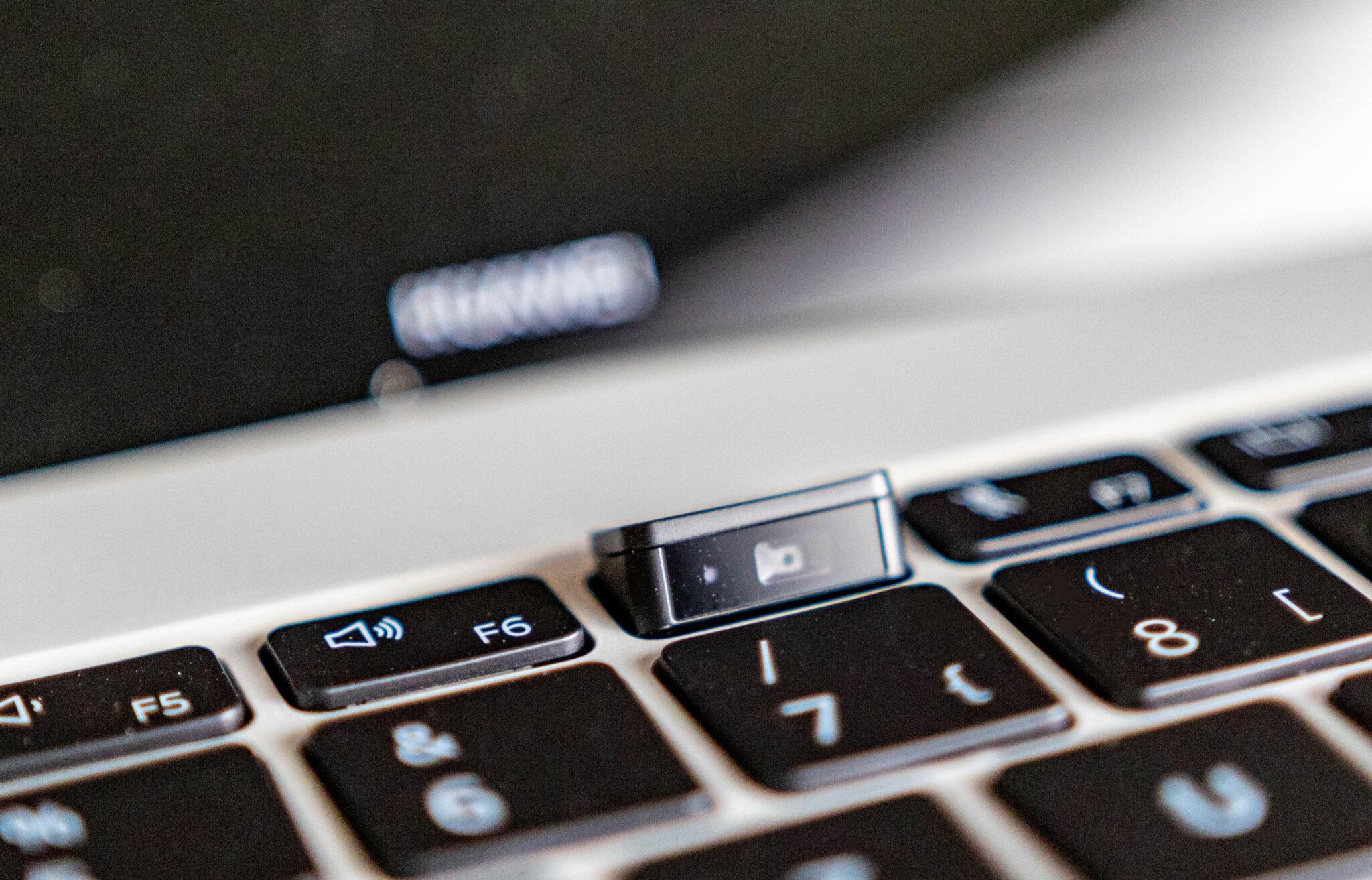 Huawei MateBook X 2020-Webcam
