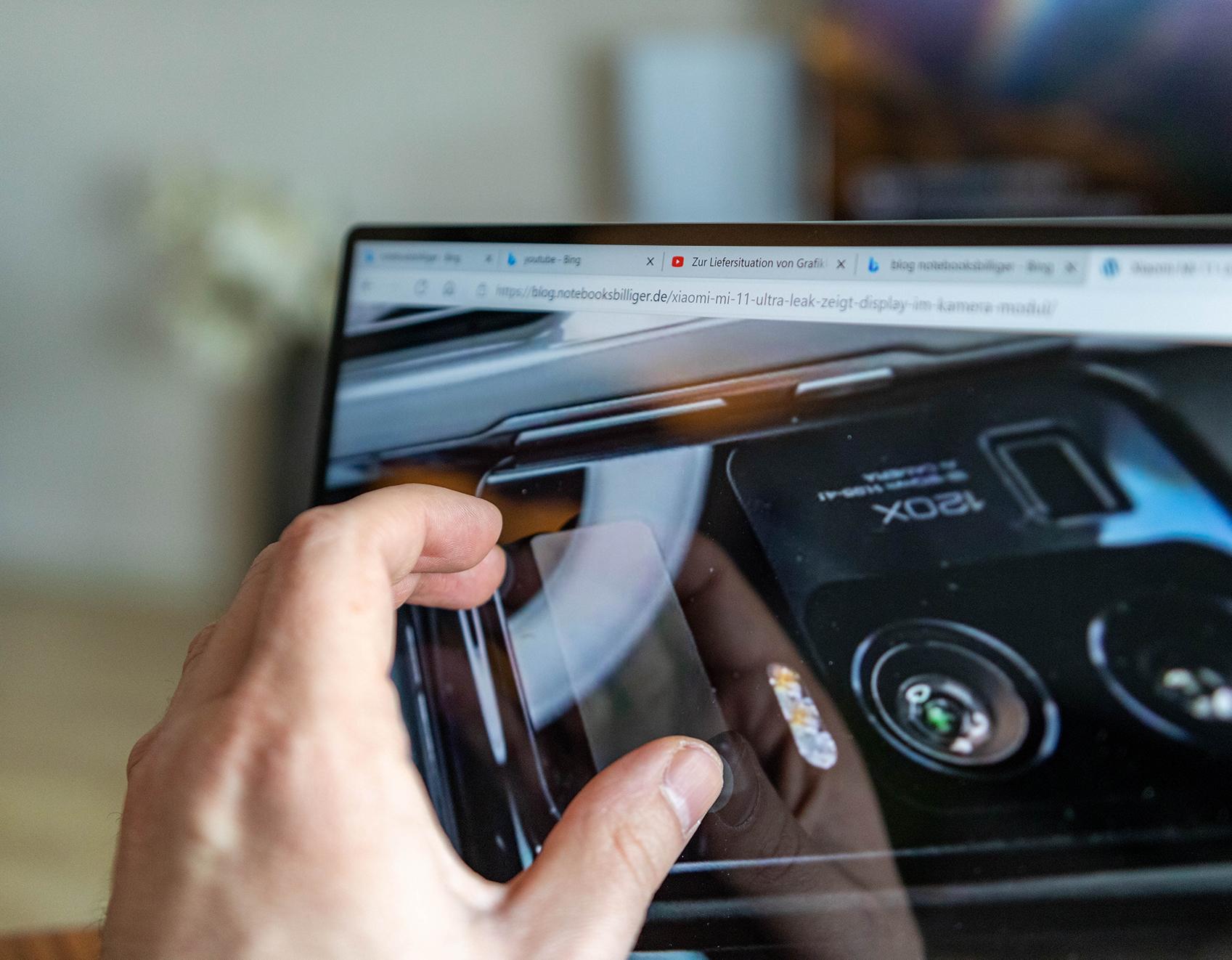 Huawei MateBook X 2020-touch