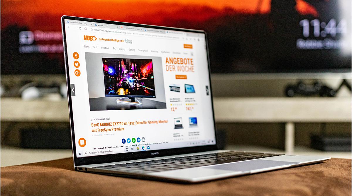 Huawei MateBook X im Test: Neuer Laptop für die Chefetage