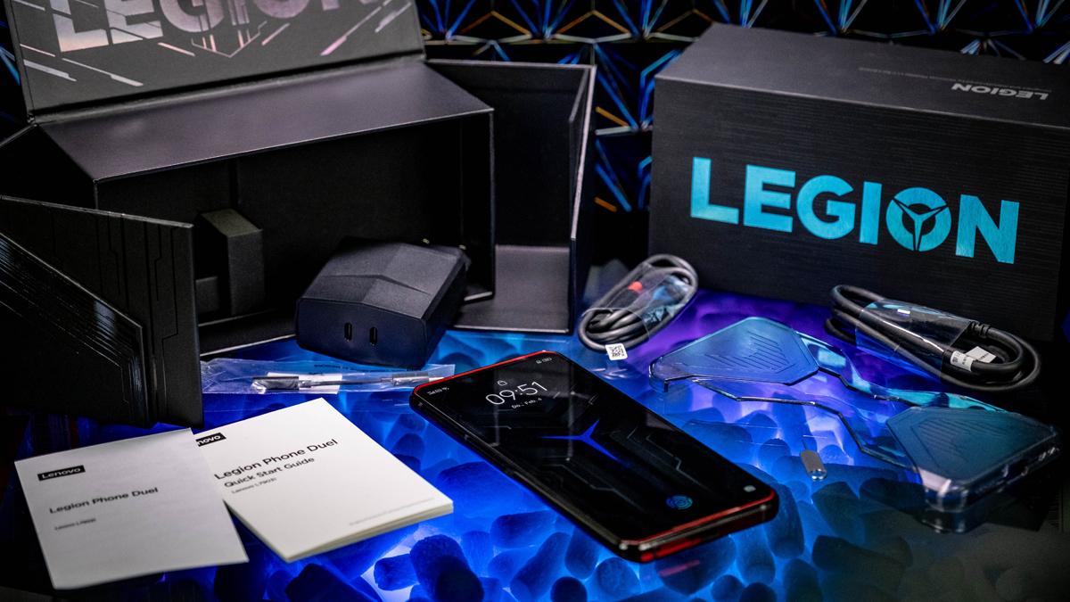 Lenovo Legion Phone Duel Lieferumfang