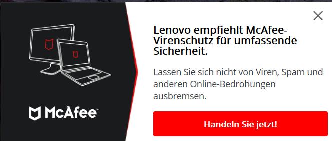 Lenovo ThinkPad E15 Werbung