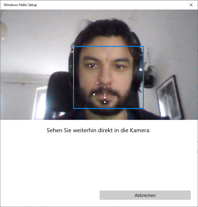 Lenovo ThinkPad E15 Windows Hello Kamera