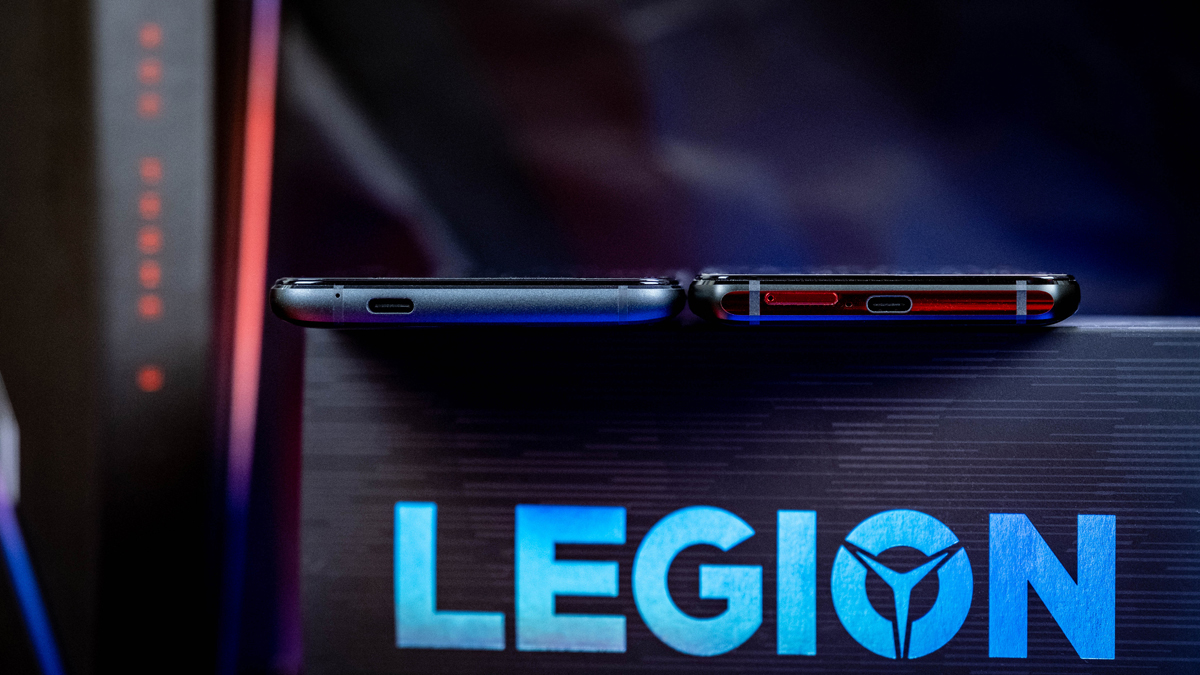 ROG Phone 3 und Legion Phone Duel Anschluss Unterseite