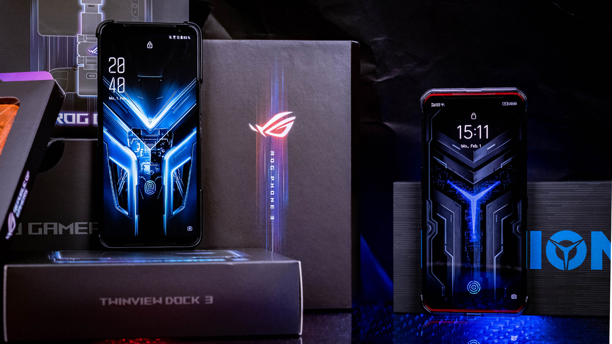 ROG Phone 3 und Legion Phone Duel Zubehör