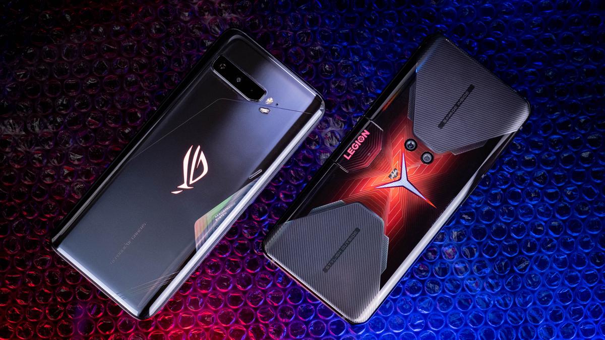 ROG Phone 3 und Legion Phone Duel Rückseite