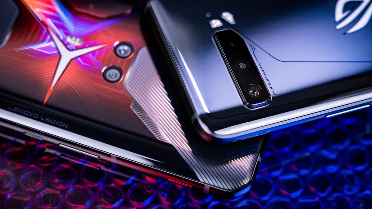 ROG Phone 3 und Legion Phone Duel Kameras