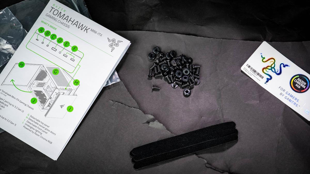 Razer Tomahawk Mini-ITX Lieferumfang