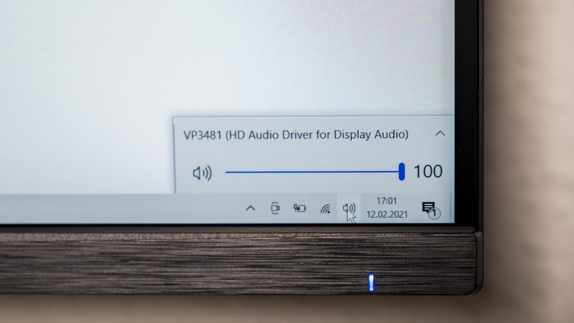 ViewSonic VP3481 ColorPro Monitor Audio