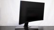 ViewSonic VP3481 ColorPro Monitor Standfuß Frontal niedrigste Höheneinstellung maximaler Neigungswinkel unten