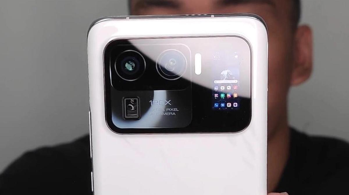 Xiaomi Mi 11 Ultra: Leak zeigt Display im Kamera-Modul